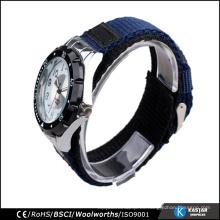 El bisel giratorio se divierte el reloj del nato de la correa del cuarzo de los deportes, reloj al por mayor de China