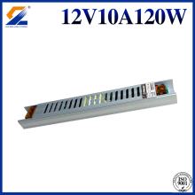 12V 10A Slim Power Supply Untuk Kotak LED