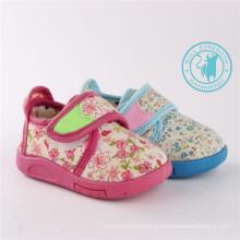 Sapatos de bebê Sapatos de injeção macia com torneira mágica (SNC-002019)