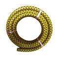 Polyester yarn braided pvc flexible spray hose pipe