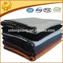 Fábrica de China cepilló el material de bambú orgánico Venta al por mayor 100 manta de bambú
