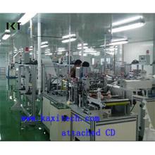 Non Сплетенная машина для Устранимый лицевой щиток Гермошлема делая Kxt-FKM01 (прилагается установочный диск)