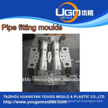Plastic mold supplier for standard size cpvc pipe fitting injection mould in taizhou China