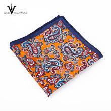 Großhandelsneues Design Seide Krawatte und Einstecktuch Set