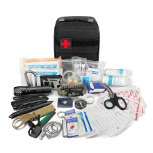 Kit de supervivencia de accesorios para acampar al aire libre del ejército