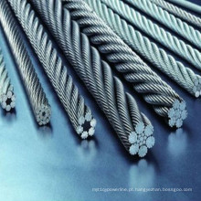 Corda de fio de aço galvanizada / zincada