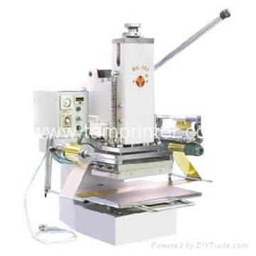 Tam-358 Agendas Embossing Pasta Manual Hot Stamping Machine