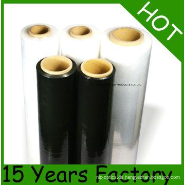 Transparente manuelle Grade PE Stretch Folie / Palette Wrap
