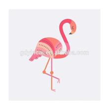 Tatuagem Temporária 'Flamingo Romântico' Customized Tattoo Designs