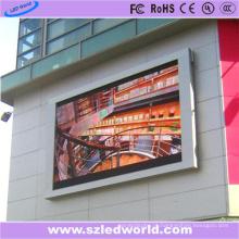 Painel exterior da exposição da tela do diodo emissor de luz da multi cor de P8 HD impermeável