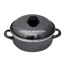 strait pot with enamel coating bulb handle cassrole strait pot with enamel coating bulb handle cassrole