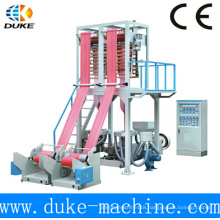 2015 New Style Double Die Head HDPE/LDPE Film Blowing Machine Made in Ruian China