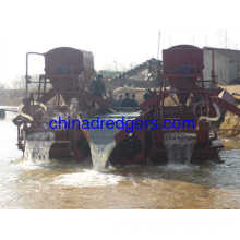 China Alluvial Gold Extraction Equipment