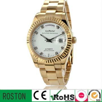 Stainless Steel Men Automatic Watch with Waterproof