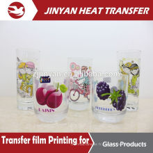 print for glass bottler heat transfer film