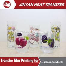 print for glass bottler heat transfer film