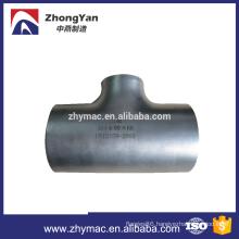 8 inch carbon steel pipe tee pipe reducing tee