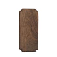 Bandeja de serviço multifuncional de madeira de tamanhos diferentes