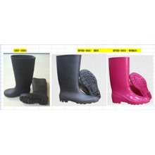 Botas de lluvia para hombre Botas de seguridad Botas de PVC con CE