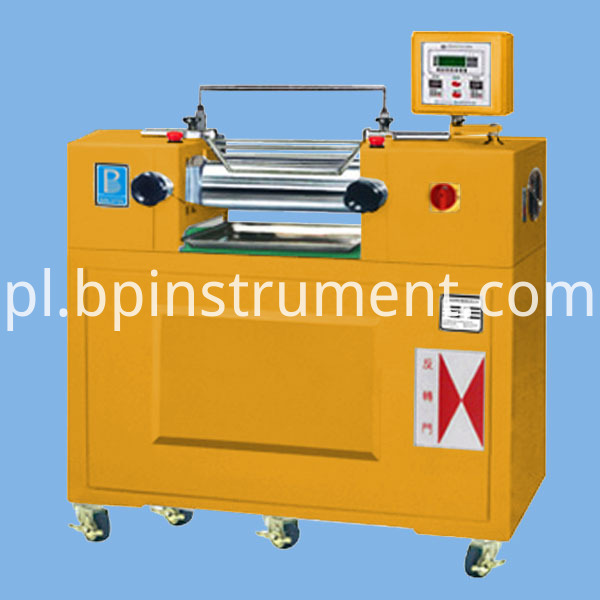 Oil Heating Lab Two Roll Mill