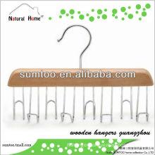 S-SJ01 Grade A scarf wooden hangers guangzhou