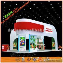 L'exposition de la conception de la conception de la coquille de l'exposition des idées de stand d'exposition