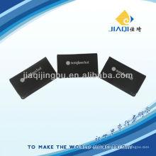 Tissu optique avec paquet en cuir