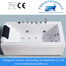 Square hydromassage tub spa massage tubs