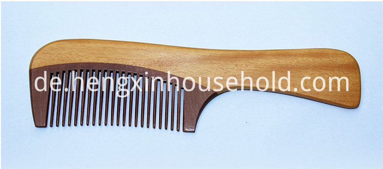 hand made wood comb