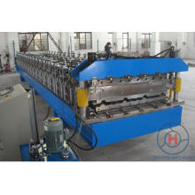 Double Layer Galvanized Steel Wall & Roof Sheet Cold Roll Forming Machine