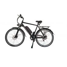 Front rear disc brake electric lithium bike 350W