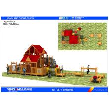 Equipamento de playground plástico