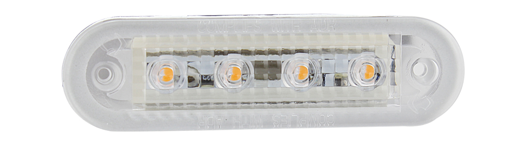 Waterproof LED Side Mark Lamp ADR Approval