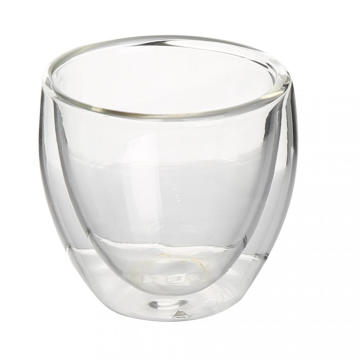 Top for China New Products Cup Of Double Wall Glass Tea Cup Double Wall Thermal Glass Cups For Green Tea export to Tonga Factory