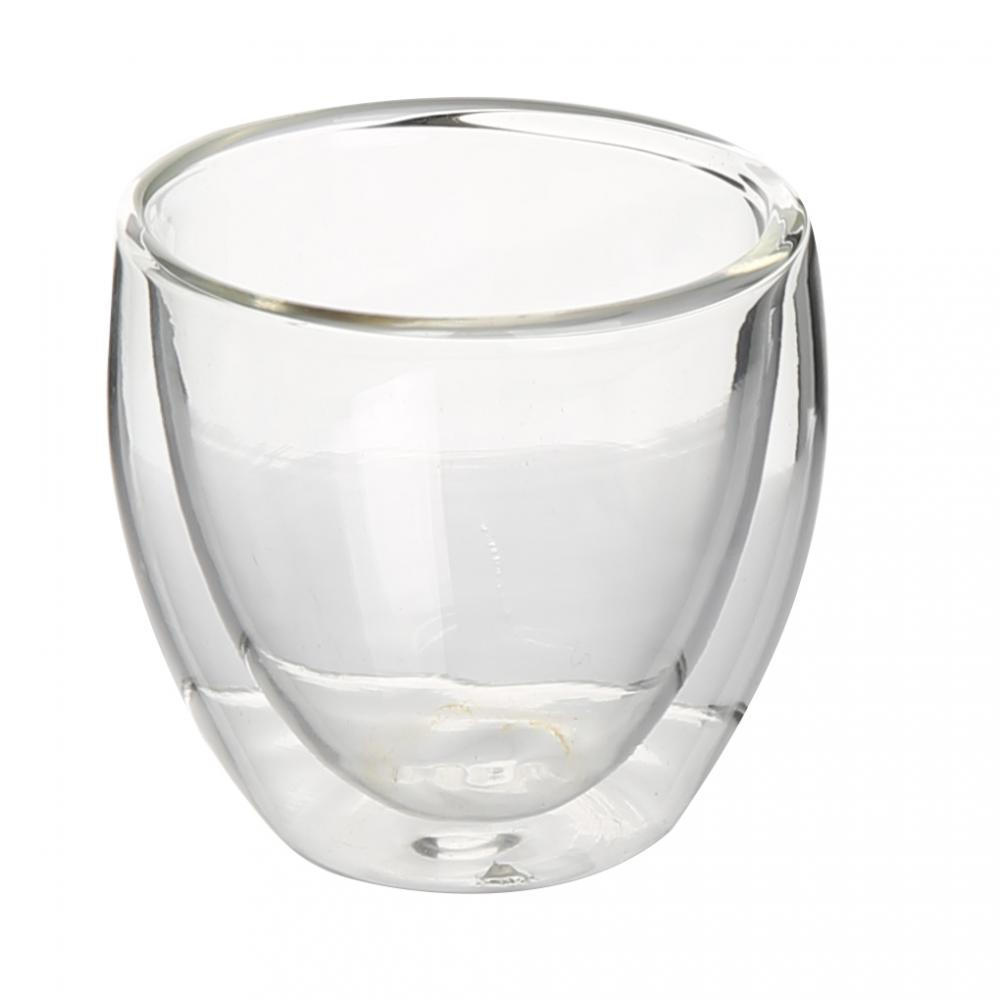 Double Wall Borosilicate Glass Cup Clear Glass Cup