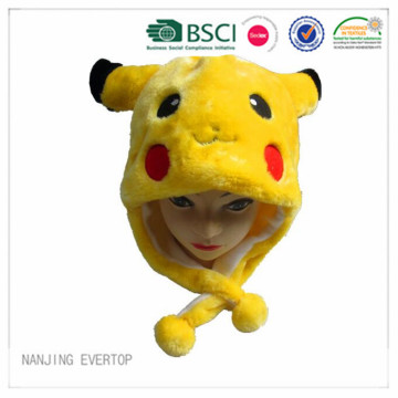 Children Hat With Pikachu Animal Design