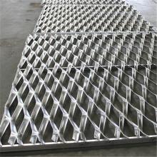 Agujero pequeño de malla de metal expandido galvanizado estirado