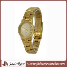 Reloj de cuarzo del reloj de aleación de estilo clásico