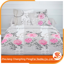 Wholesale European style stretch brushed polyester fabric for making bed sheets