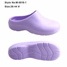 Nursing Non-Hole EVA Slipper, Clogs Hospital Nurse Work and Chef Safety Shoes
