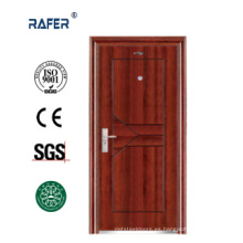 Puerta de acero plana / puerta de acero de diseño simple (RA-S085)