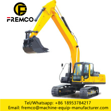 Big Excavator with Long Arm