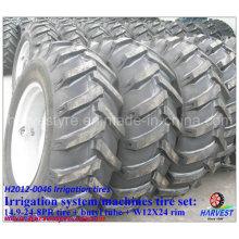 Irrigation Machine 14.9-24 Tyres with W12X24 Rim