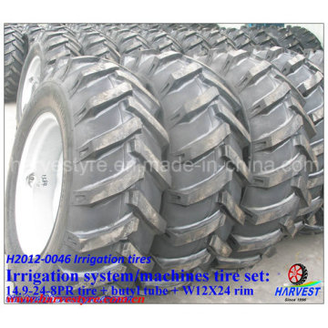 Irrigation Machine 14.9-24 Tyres with W12X24 Rim