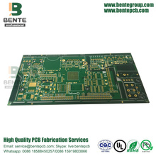 1oz Multilayer PCB 6-Schichten PCB ENIG 3U