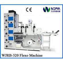 Wjrb-320 автоматические флексо печати машина