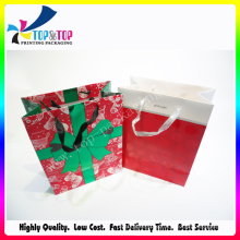 Luxury Handle Bag Spot UV Finished Paper Bag