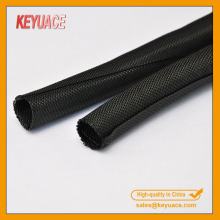 Self wrapping PET Dust Proof Textile Sleeve Cable