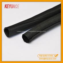 Gaine de câble textile anti-poussière PET auto-enveloppante