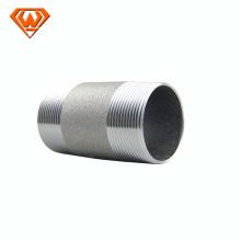 Long thread carbon steel nipples